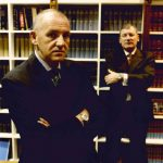 Tom Percy QC with Mark Trowell QC circa 2005